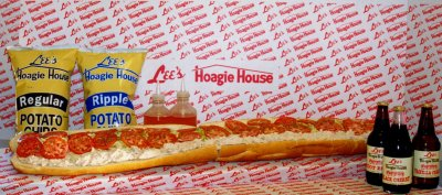3 foot Lee's Hoagie